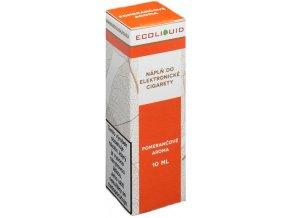 Liquid Ecoliquid Orange 10ml - 0mg (Pomeranč)