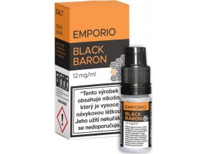 emporio salt black baron 10ml 12mg