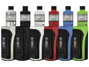 iSmoka-Eleaf iKuun i80 grip 3000mAh Full Kit Silver