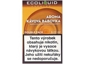 Liquid Ecoliquid Premium 2Pack Coffee Cake 2x10ml - 18mg