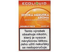 Liquid Ecoliquid Premium 2Pack Wild Apricot 2x10ml - 0mg