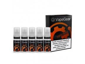 nikotinova premiova baze vapegear 70pg 30vg 5x10ml