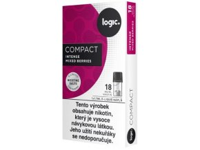 JTI Logic Compact cartridge Intense Mixed Berries 18mg