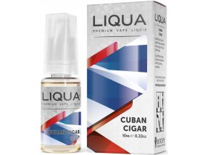 liqua cz elements cuban tobacco 10ml kubansky doutnik