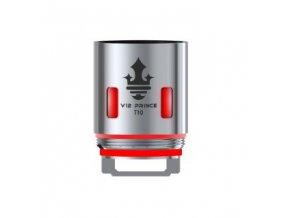 Smoktech TFV12 Prince V12 Prince - T10 žhavicí hlava 0,12ohm Red Light