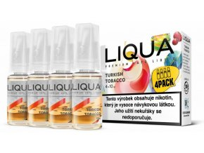 liqua cz elements 4pack turkish tobacco 4x10ml turecky tabak