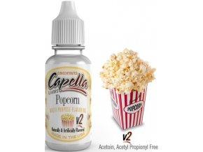 Příchuť Capella 13ml Popcorn v2