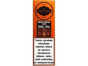 Liquid COSMIC FOG - LOST FOG Neon Cream 10ml-0mg