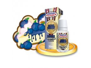 E-liquid American Stars 10ml / 0mg: Blueberry Cheesecake