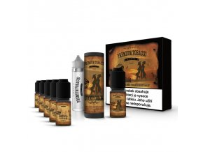 E-liquid DIY sada Premium Tobacco 6x10ml / 3mg: Lucky Color
