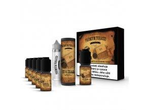 E-liquid DIY sada Premium Tobacco 6x10ml / 18mg: RY4 Cigar