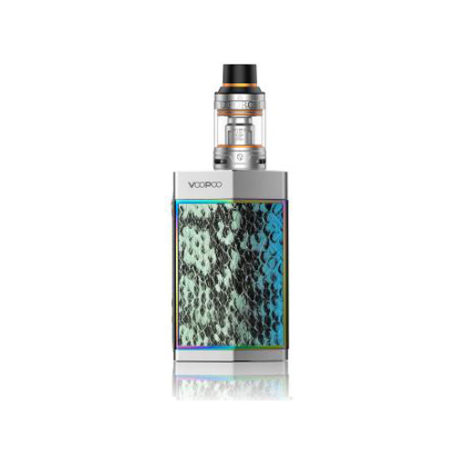 Elektronický grip: VooPoo Too 180W Kit s UFORCE (Silver Turquoise)