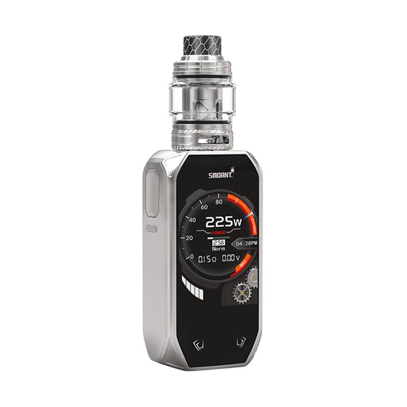 Elektronický grip: Smoant Naboo Kit s Naboo Mesh (Stříbrný)