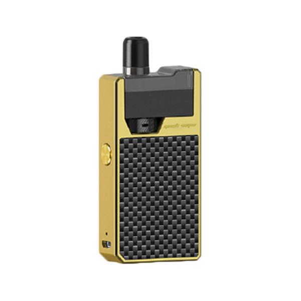 Elektronická cigareta: GeekVape Frenzy Pod Kit (950mAh) (Gold Carbon Fiber)