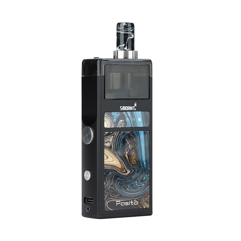 Elektronická cigareta: Smoant Pasito Pod Kit (1100mAh) (Black)