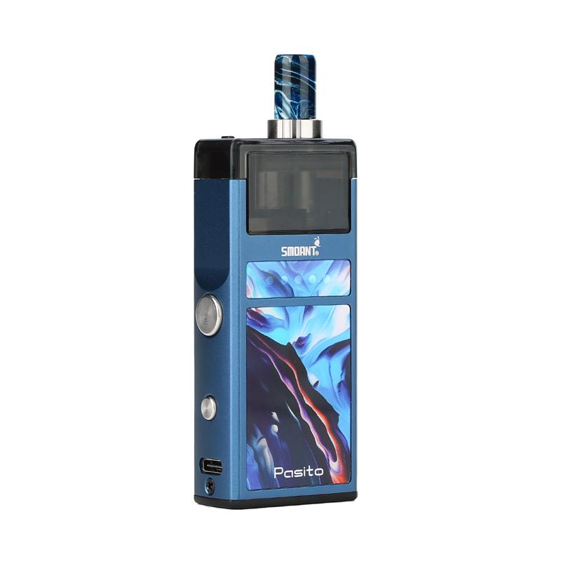 Elektronická cigareta: Smoant Pasito Pod Kit (1100mAh) (Bronze Blue)