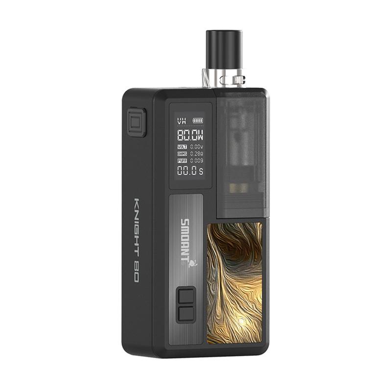 Elektronická cigareta: Smoant Knight 80W Pod Kit (Black)