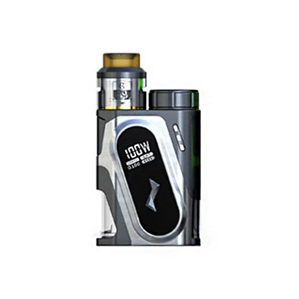 Elektronický grip: IJOY CAPO SRDA Squonker Kit (Silver)