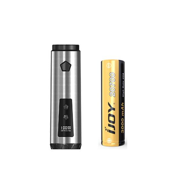 Elektronický grip: IJOY Saber 100 Mod (Stříbrný)