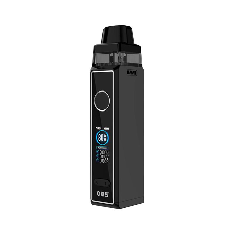 Elektronická cigareta: OBS Cabo Fingerprint Pod Kit (Black)