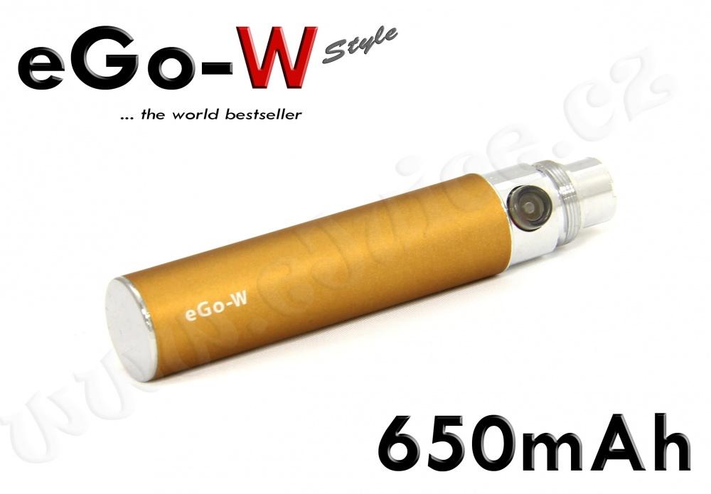 Baterie eGo-W - (650mAh) - MANUAL (Copper)