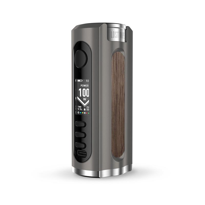 Elektronický grip: Lost Vape Grus Mod (Gunmetal / Walnut Wood)