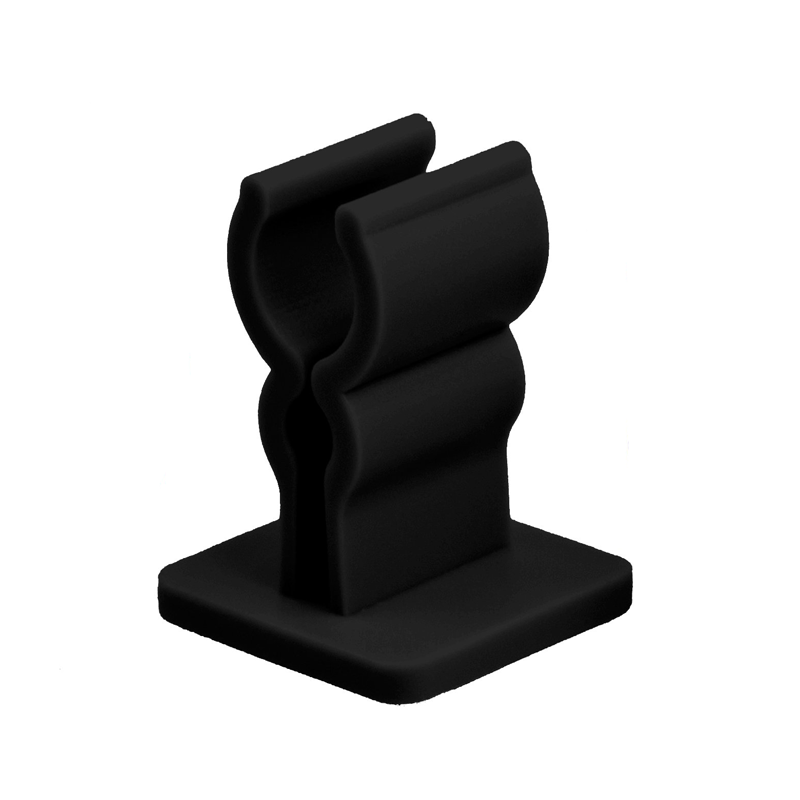 Samolepící držák eGo baterií (Černý)