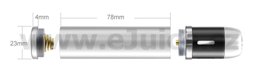 Tělo baterie Joyetech eVic (Stříbrná)