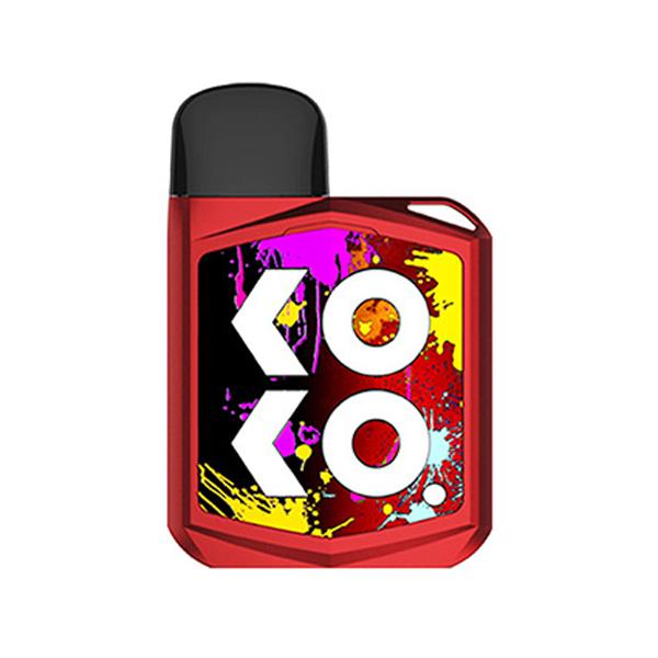 Elektronická cigareta: Uwell Caliburn KOKO PRIME Pod Kit (690mAh) (Červená)