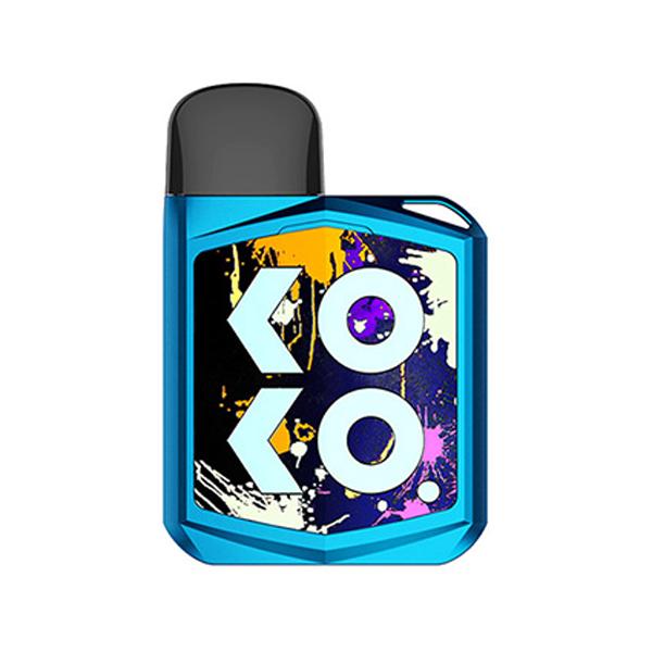 Elektronická cigareta: Uwell Caliburn KOKO PRIME Pod Kit (690mAh) (Modrá)