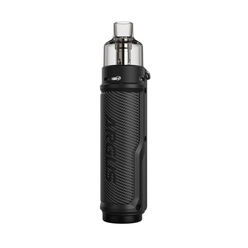Elektronická cigareta: VooPoo Argus X Mod Pod Kit (Carbon Fiber & Black)