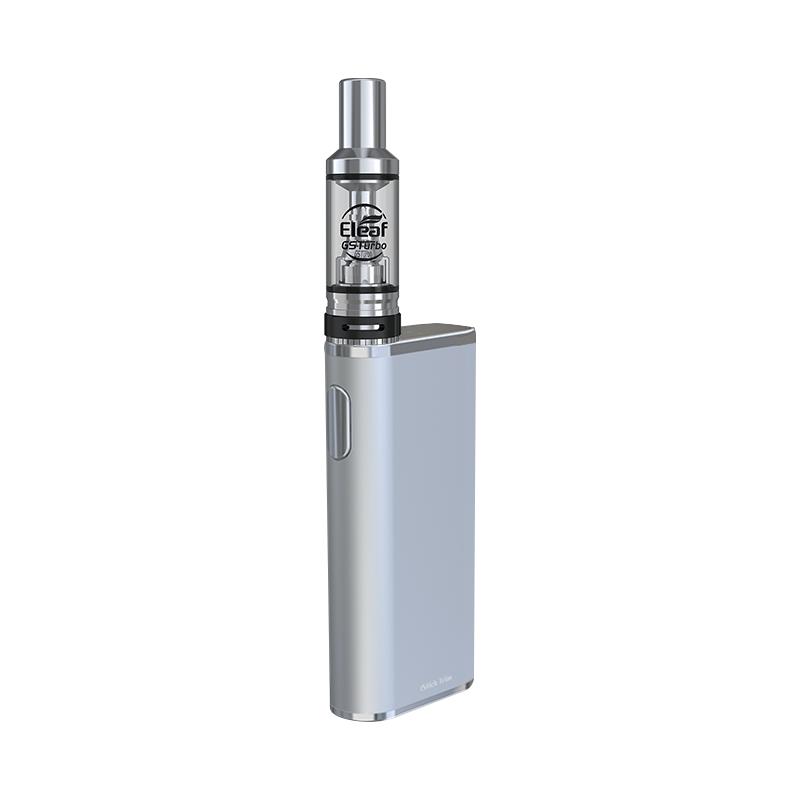Elektronická cigareta: Eleaf iStick Trim Kit s GSTurbo (1800mAh) (Stříbrná)