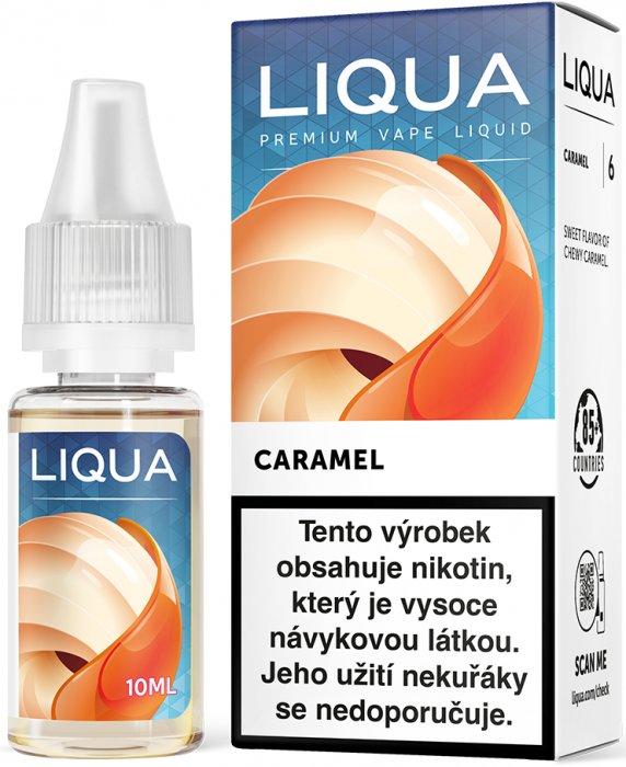Ritchy Liqua Liquid LIQUA CZ Elements Caramel 10ml 0mg
