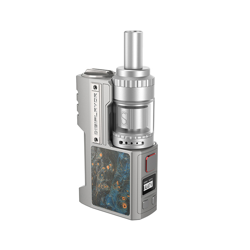 Elektronický grip: Digiflavor Z1 SBS Kit s Siren 3 GTA (Silver Gray Stabwood)