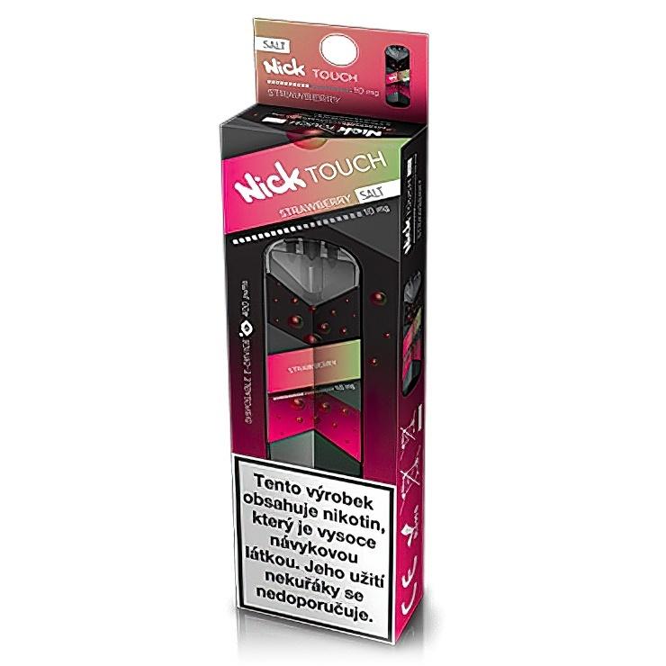 Nick Touch Salt elektronická cigareta Strawberry 10mg