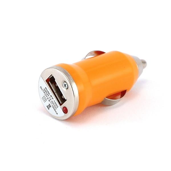 Microcig Autonabíječka | 12V | Mini | Oranžová + DÁREK ZDARMA