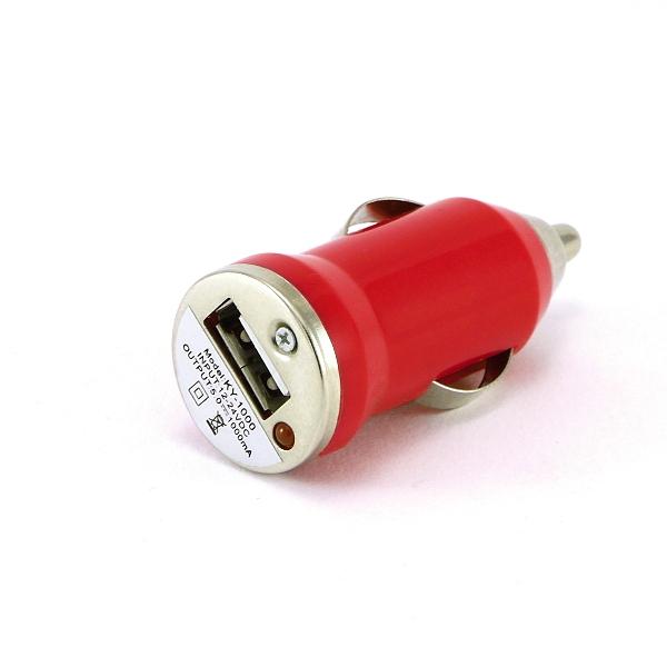 Microcig Autonabíječka   12V   Mini   Červená + DÁREK ZDARMA