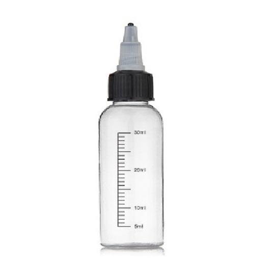 Prázná lahvička Flavourit s ryskou 30ml