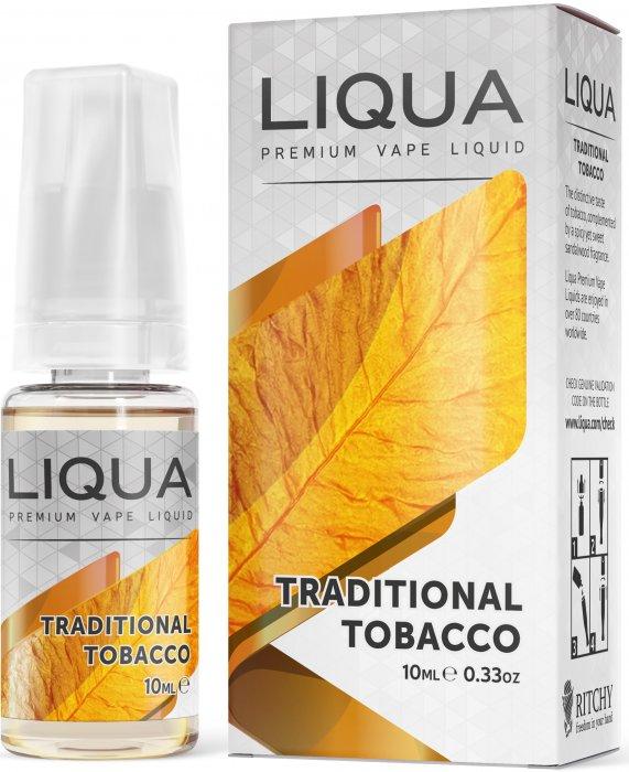 Ritchy Liqua LIQUA Elements Traditional Tobacco 10ml 0mg