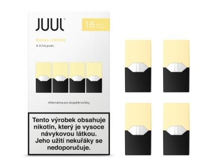JUUL Labs Inc. Cartridge Royal Creme 18mg 4ks