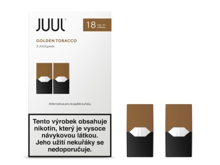 JUUL Labs Inc. Golden Tobacco 18mg 2ks