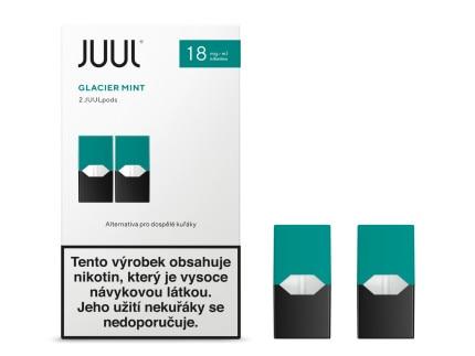 JUUL Labs Inc. Cartridge Glacier Mint 18mg 2ks