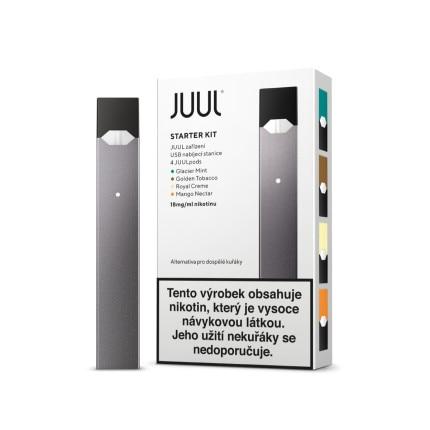 JUUL elektronická cigareta Starter Kit + 18mg 4pack