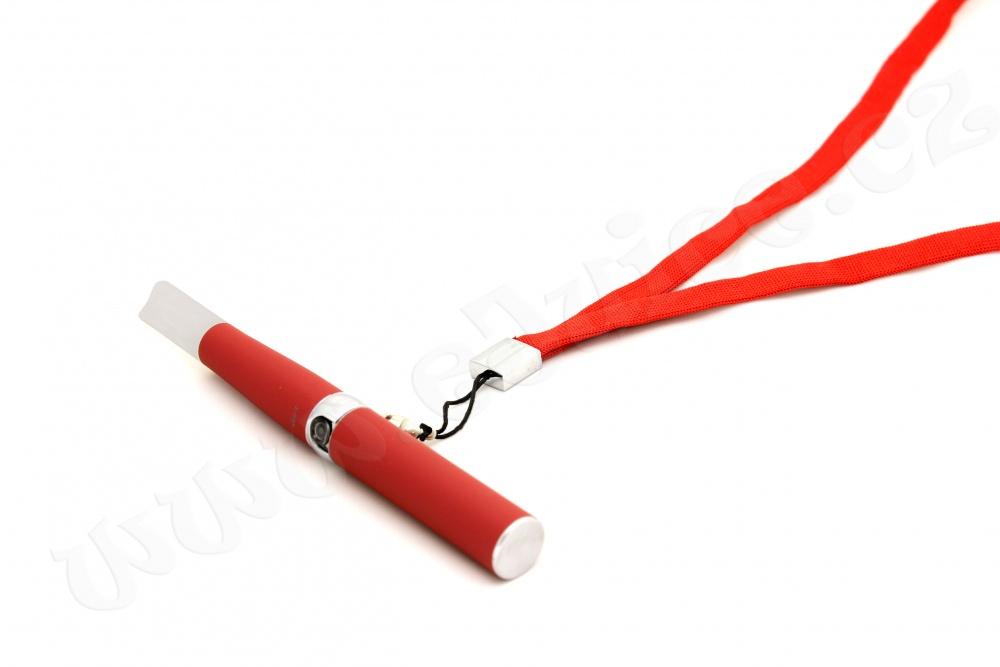 Šňůrka na krk pro elektronickou cigaretu eGo / eGo-T (Červená)