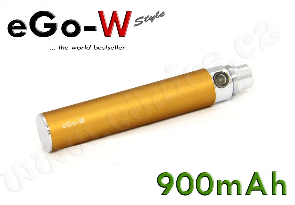 [!Doprodej] - Baterie eGo-W - MEGA (900mAh) - MANUAL (Copper)