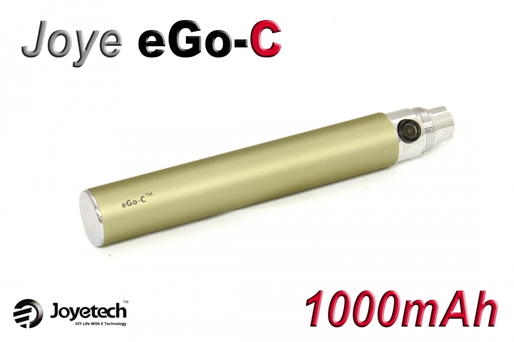 [!Doprodej] - Baterie Joyetech eGo-C - (1000mAh) (Titanová) - UPGRADE
