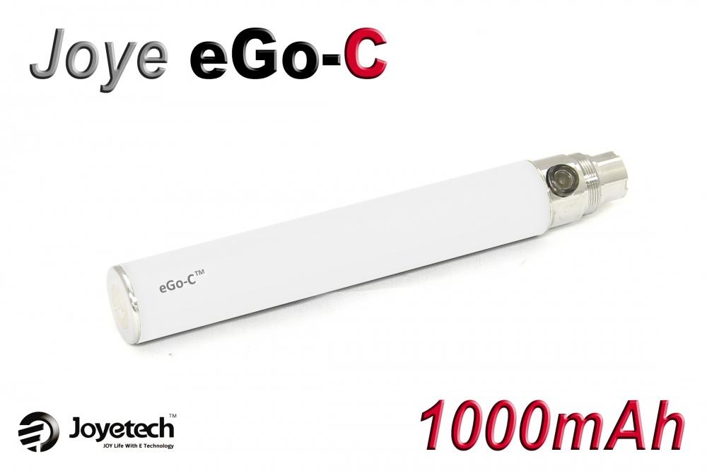 [!Doprodej] - Baterie Joyetech eGo-C - (1000mAh) (Bílá) - UPGRADE