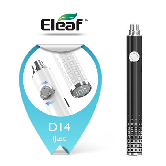 Baterie Eleaf iJust D14 eGo LED (VV) 650mAh (Černá)