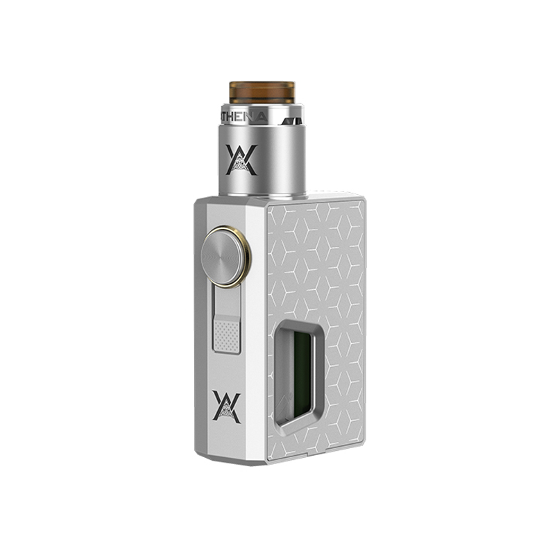 Mechanický grip: GeekVape Athena Squonk Kit s Athena BF RDA (Stříbrný)