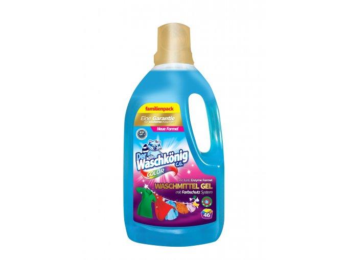 Waschkönig Color 1,625 L prací gel 54 praní